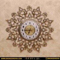 ساعت دیواری برنزی طرح ستاره صفحه ۲۸