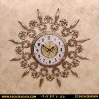 ساعت دیواری برنزی طرح پر صفحه 28