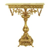 یک میز خاطره و میز فرشته برنزی و سنگی