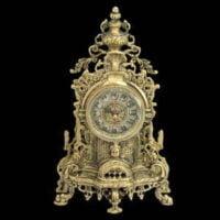 انواع مدل های ساعت رومیزی برنزی زیبا
