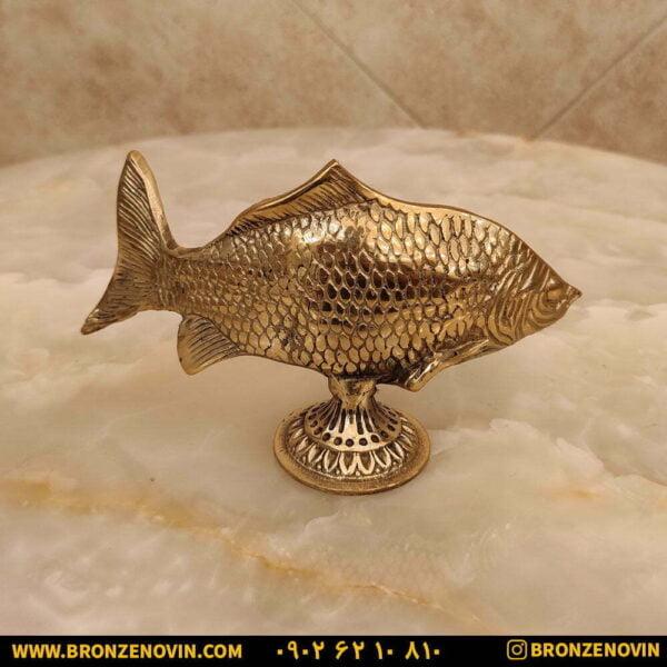 مجمسه ماهی برنزی